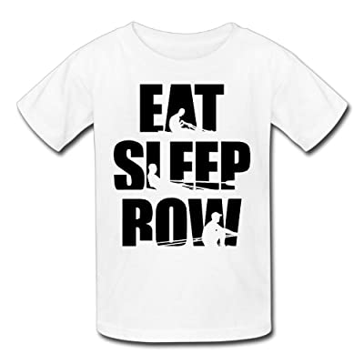 60d145dccfed0 Hailin Tattoo Boys Girls Tshirt Eat Sleep Row Original Plus Size Tshirt  Fashion Couple Tees