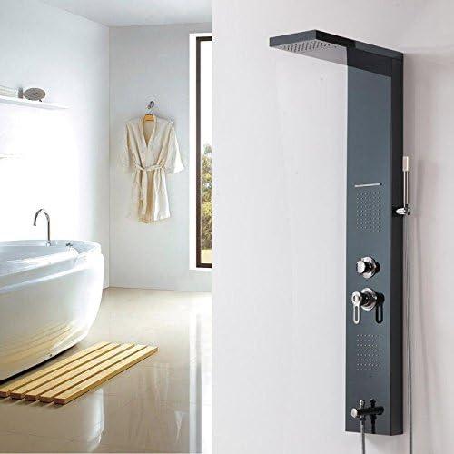 Tw El aceite frotado el bronce baño ducha columna ducha bañera ...