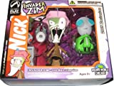 Invader Zim: Zim in Old Man Disguise & Gir in Dog Disguise Action Figure Set by Palisades