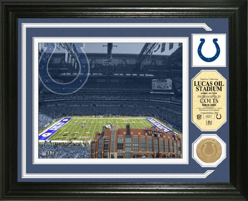 (The Highland Mint Indianapolis Colts Single Coin Stadium Photo Mint )