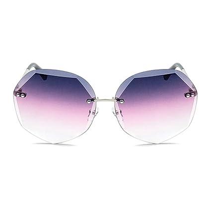 HYH Europa Y América Gafas De Sol con Corte De Cristal Moda ...