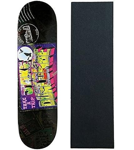 BLIND Skateboard Deck JAKE DUNCOMBE POSTCARD 8.25 with GRIPTAPE (Jake Duncombe Skateboard)