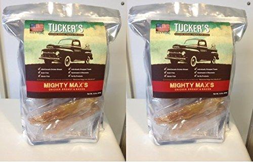 Tuckers Mighty Max Chicken/Bacon Dog Treats 2lb (2 (Max Chicken)
