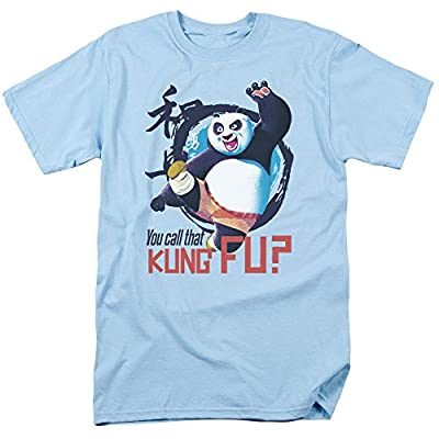 Kung Fu Panda Animated Family Movie Po You Call That Kung Fu? Adult T-Shirt