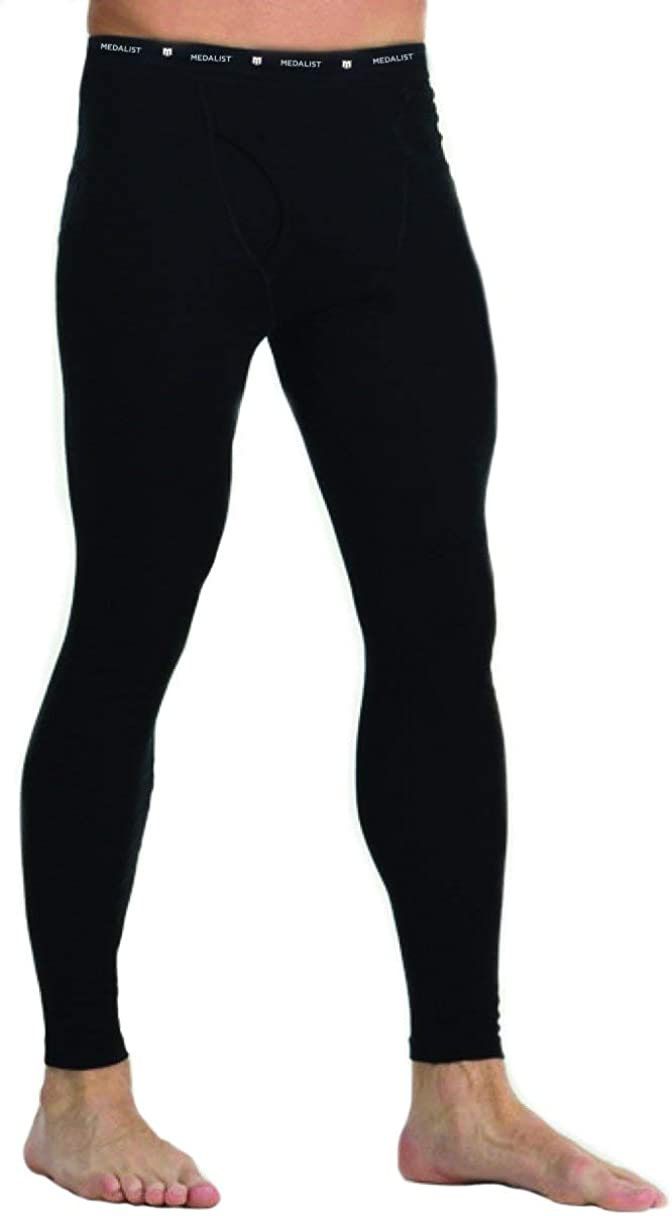 MEDALIST Mens Performance Fleece Base Layer Pants