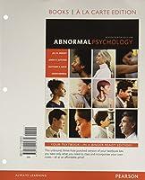 Abnormal Psychology, Books Ala Carte Edition (17th Edition)