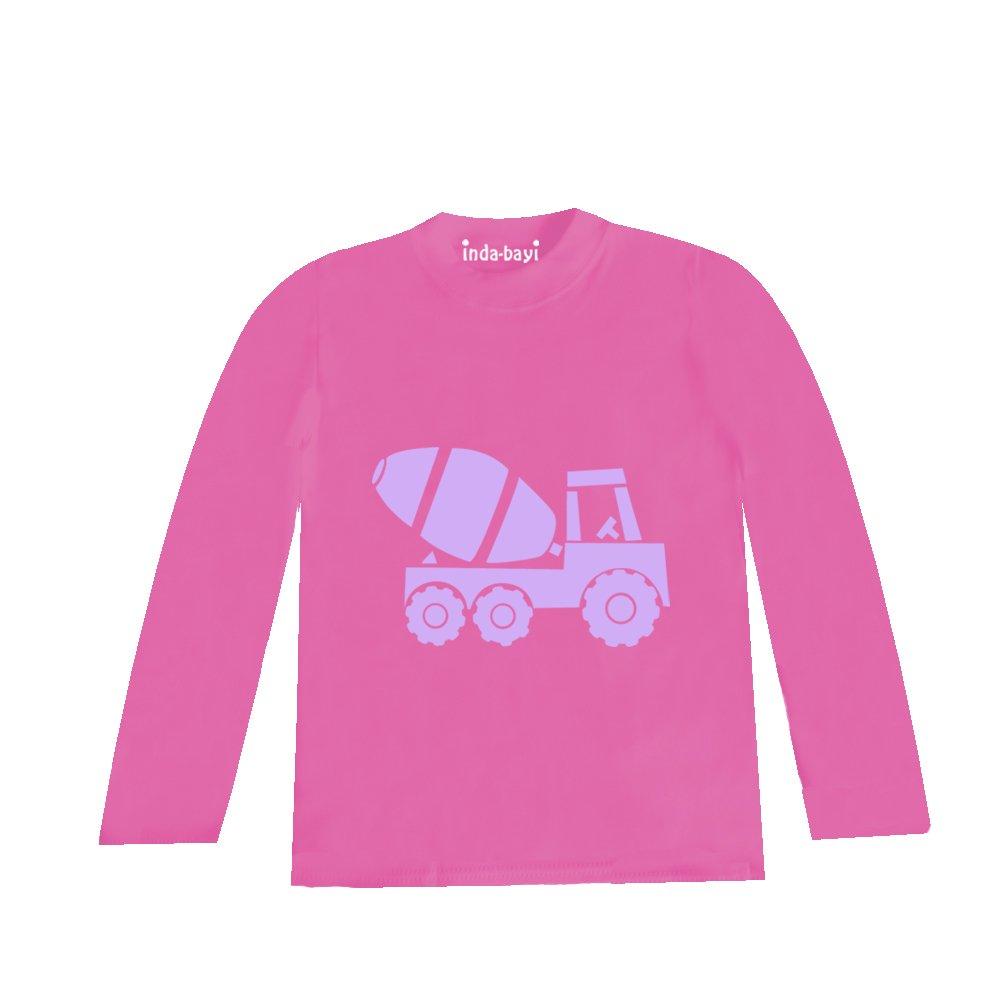 Tractor Inda-Bayi Baby-Toddler-Kids Cotton Long Sleeve T Shirt