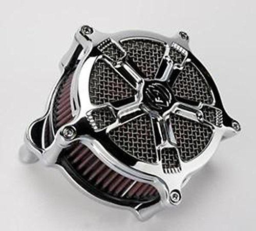 - Roland Sands Designs Venturi Air Cleaner For Harley Davidson Touring 2008-2012 - Turbo - Chrome - Performance Machine (RSD)0206-2034-CH