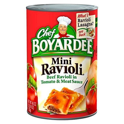 Chef Boyardee Mini Ravioli, 15-Ounce (Pack of (Mini Ravioli)