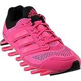 adidas Running Women's Springblade Drive Solar Pink/Solar Blue2/Black 10 B – Medium For Sale
