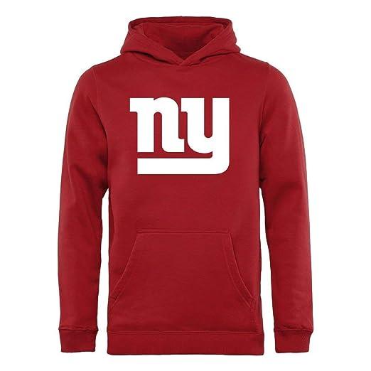 New York Giants NFL Kids Primary Logo Red Pullover Hooded Sweatshirt (Kids  4) 60d19209e