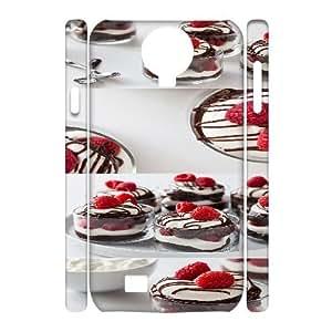 Qxhu Dessert Hard Plastic Back Protective case for SamSung Galaxy S4 I9500 3D case
