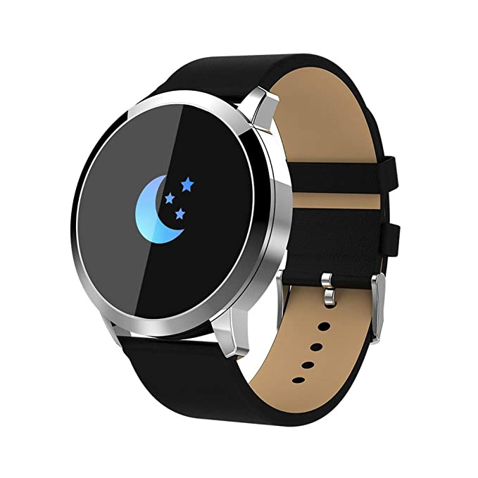 Amazon.com: Bluetooth Sport Watch, Stainless Steel Watch ...