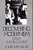 Discovering Modernism, Louis Menand, 0195057171