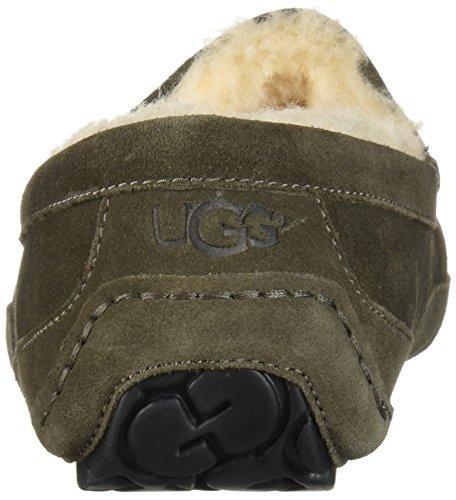 AustraliaAscot Pantofole UGG AustraliaAscot Uomo UGG Charcoal Uomo Charcoal Pantofole ww4fqXH