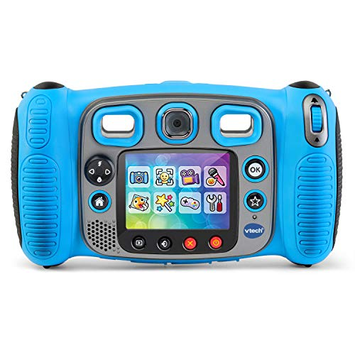 VTech Kidizoom Duo 5.0 Deluxe Digital Selfie Camera with MP3 Player & Headphones, Blue by VTech (Image #2)