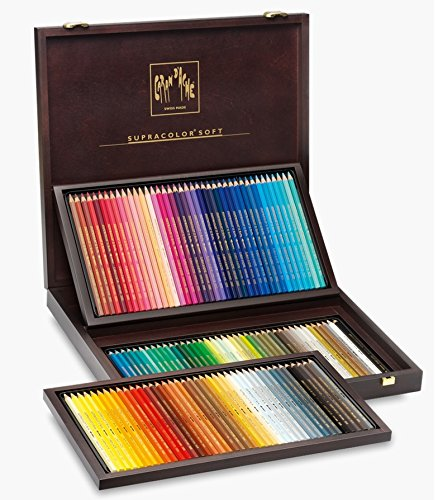 Caran D'ache Supracolor, Wooden Box 120 Pencils (3888.920) by Caran d'Ache (Image #1)