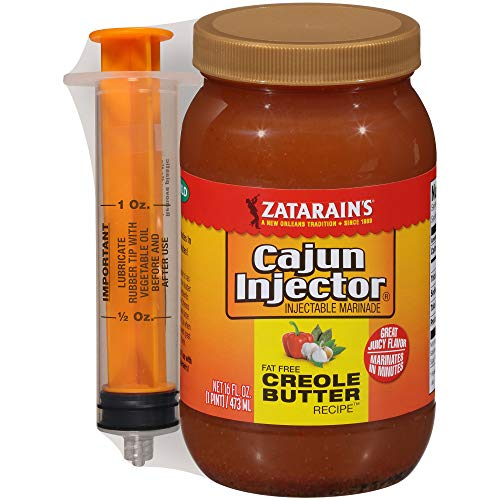Cajun Injector Creole Butter 16oz (1 Pint) (Pack of 2)