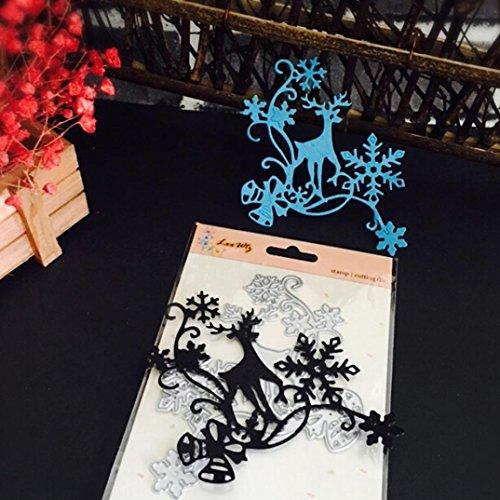 Christmas Halloween Paper Decor Cutting Dies Stencil Scrapbooking