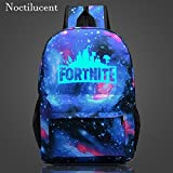 (US) Fortnite Cool Backpack School Bags for Boys Schoolbags Lunch Bag for Teenagers