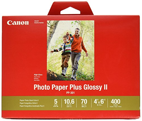 - CanonInk Photo Paper Plus Glossy II 4