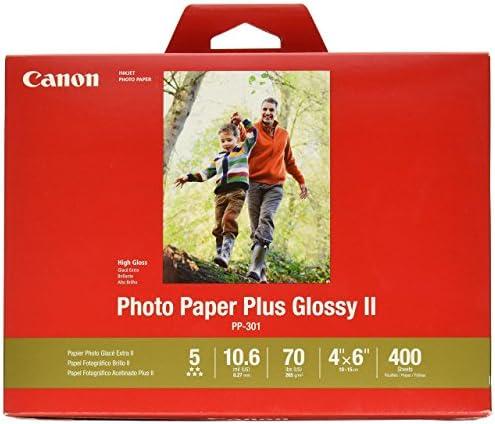 "CanonInk Photo Paper Plus Glossy II 4"" x 6"" 400 Sheets (1432C007)"