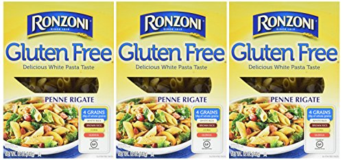 Ronzoni Gluten Free Penne Rigate Pasta (3 Pack) by Ronzoni