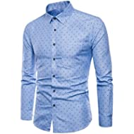 Boomboom Men Shirts, Fashion Men Luxury Business Stylish Slim Fit Short Sleeve Casual Polo Shirts