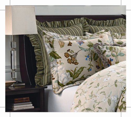 Williamsburg Garden Images Euro Sham