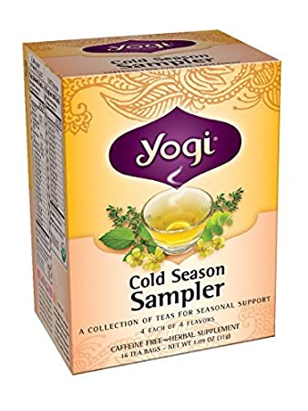 Amazon. Com: yogi teas cold season sampler, 16 count (pack of 6.