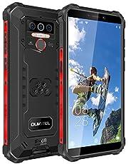 OUKITEL WP5 Pro Outdoor Smartphone-Android 10 4G Dual SIM Robuuste Waterdichte Telefoon IP68, Helio A25, 5,5 inch Drievoudige Cameratelefoon Met 8000 mAh-batterij Outdoor Telefoon,(Zwart)