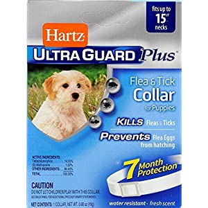 Hartz 96341 0.77 Oz Advanced Care 3 in 1 Control Collar for Puppies 82