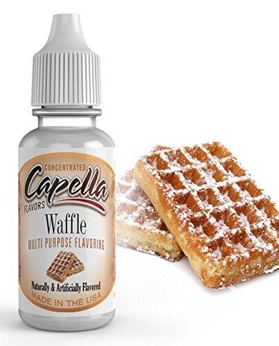 Capella Flavor Drops Waffle Concentrate 13 Milliliter Bottle