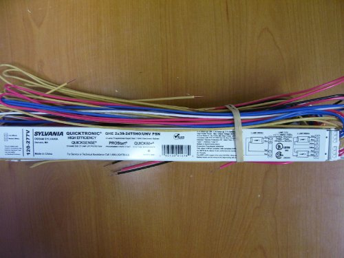 Sylvania 51478 - QHE 2X39-24T5HO/UNV PSN T5 Fluorescent Ballast