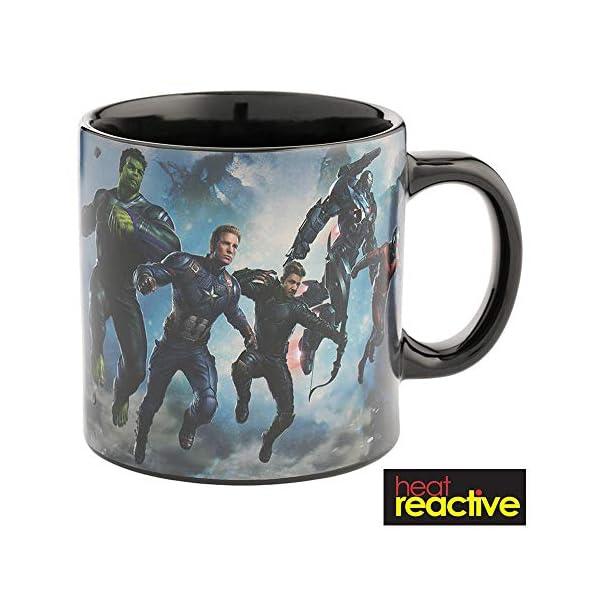 Avengers Endgame 20 oz. Heat Reactive Ceramic Mug