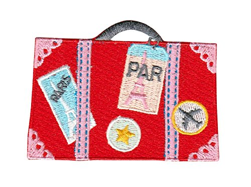 ICONA Bon Voyage Embroidery Sticker / Adhesive Patch - Travel bag PAR ()
