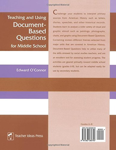 Teaching and Using Document-Based Questions for Middle School (Gifted Treasury Series) by Brand: Libraries Unlimited