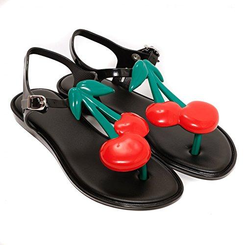 Melissa Shoes Kids Solar Cherry Black Contrast