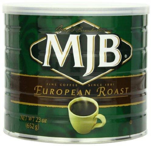 MJB Coffee, European Roast Ground, 23 Ounce
