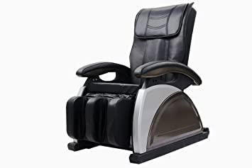 electric full body shiatsu massage chair recliner chair black
