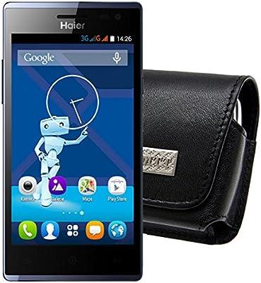 MTT – Funda para/Haier HaierPhone L50 4 G/Horizontal piel, cierre ...