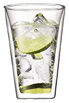 Bodum Canteen Double-Wall Cooler/Beer Glasses, Set of 2