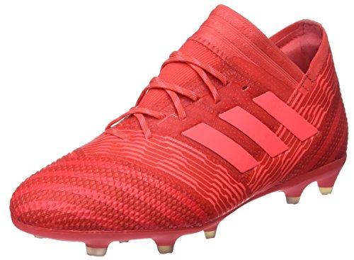 Adidas Nemeziz 17.1 FG J, Botas de Fútbol Unisex Niños Naranja (Correa / Rojent / Negbas 000)