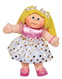 """Cabbage Patch Kids Vintage Retro Style Yarn Hair Doll - Original Blonde Hair/Blue Eyes, 16"""" - Amazon Exclusive - Easy to Open Packaging"""