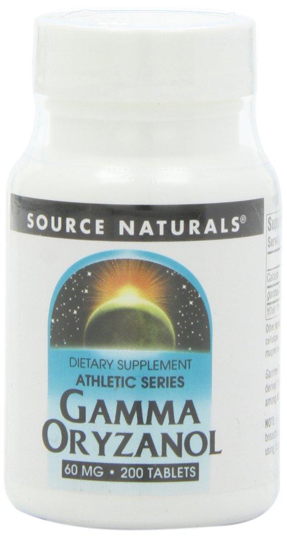 Source Naturals Gamma Oryzanol 60 Mg, 200 Tablets