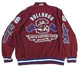South Carolina State University Bulldogs Varsity Trimmed HBCU lack College Mens Big & Tall Jacket (large)