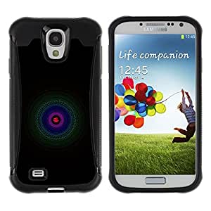 Suave TPU GEL Carcasa Funda Silicona Blando Estuche Caso de protección (para) Samsung Galaxy S4 IV I9500 / CECELL Phone case / / Green Blue Purple /