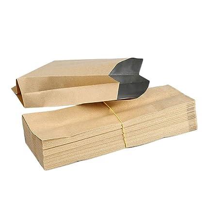 Amazon.com: Paquete de alimentos de papel reciclado – 50 ...