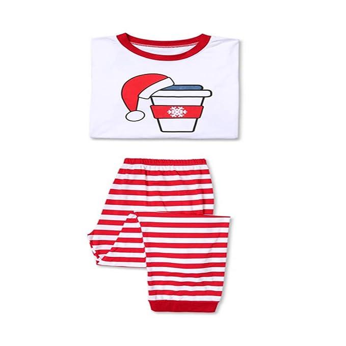 Pijamas de Navidad Trajes de la Familia Ropa de Dormir Conjuntos de Ropa a Juego Ropa