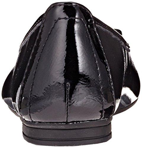 22163 Black Donna Ballerine Patent Softline Nero PFqzZPdI